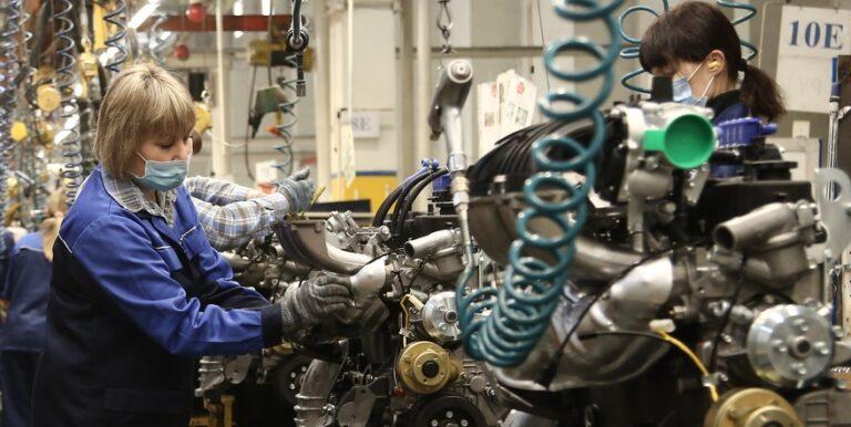 Индекс промышленного производства в Ульяновской области достиг 103% и превысил общероссийские показатели