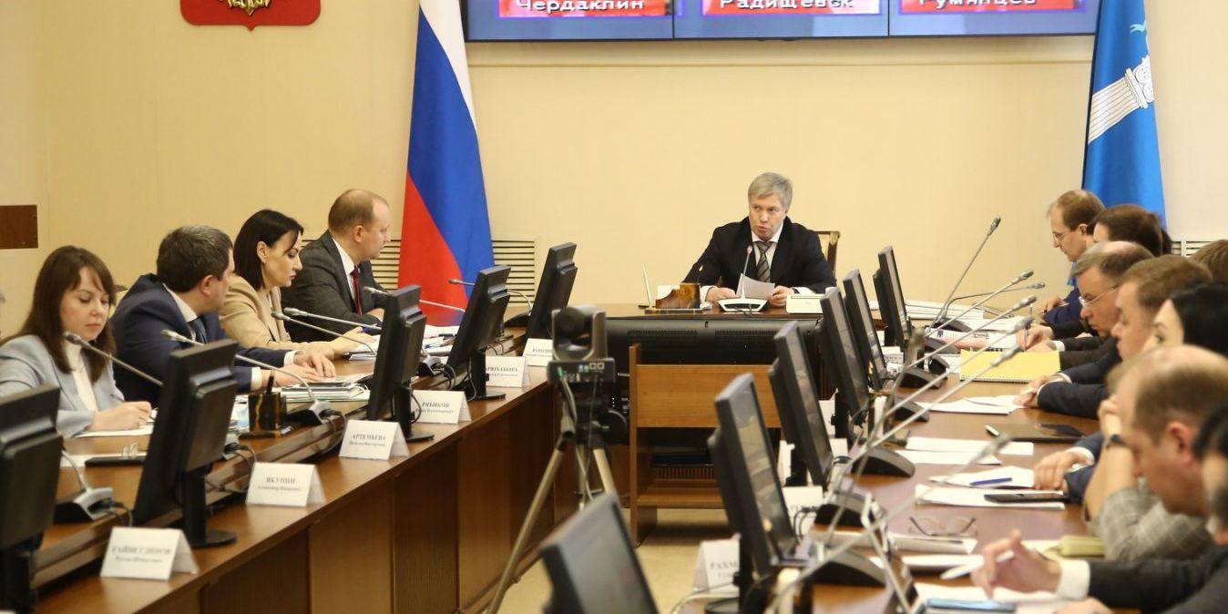 Алексей Русских призвал наращивать темпы роста промышленного производства в Ульяновской области